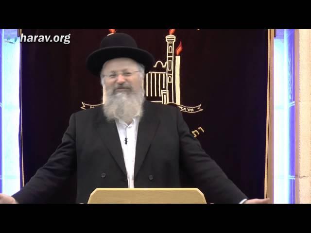 פורים - תורה מאירת פנים הרב שמואל אליהו