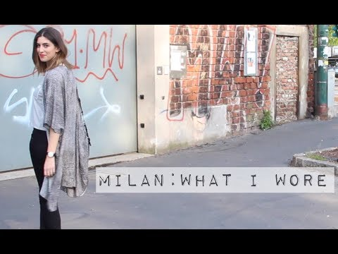 Milan: What I Wore // Lily Pebbles