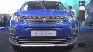 Peugeot Rifter Allure PureTech 110 S&S BVM6 (2019) Exterior and Interior