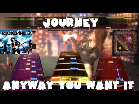 Journey - Anyway You Want It - @RockBand 2 Expert Full Band