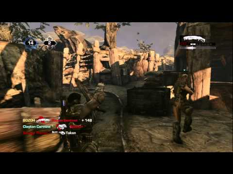 GEARS OF WAR 3 TRENCHES MAP
