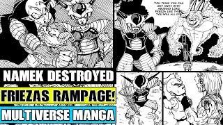 Dragon Ball Multiverse Chapter 38: Frieza Destroys Planet Namek! The End Of Gohan