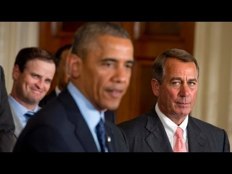 Boehner unloads, Obama responds