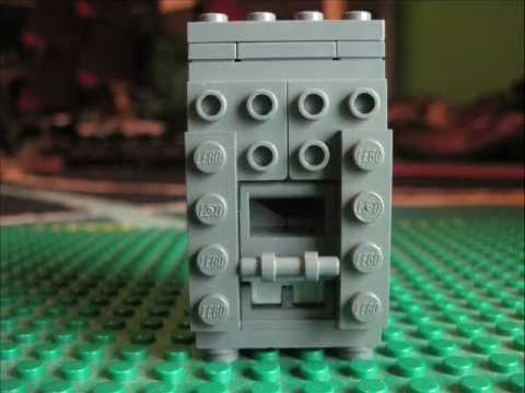 How To Make A Lego Vending/Soda Machine That Works