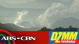 Volcanic fissure spotted at popular Taal tourist trail - Phivolcs | DZMM