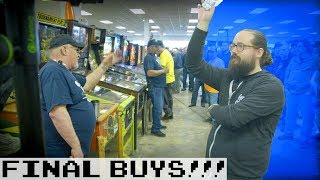 Final Buys and Pinball! - BIDDING Part 5: March '19 Arcade Auction