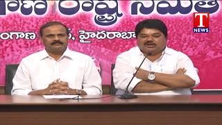 MLC Karne Prabhakar Fires On TDP Leader TG Venkatesh | Karne Ramulu Naik | TRS Bhavan  live