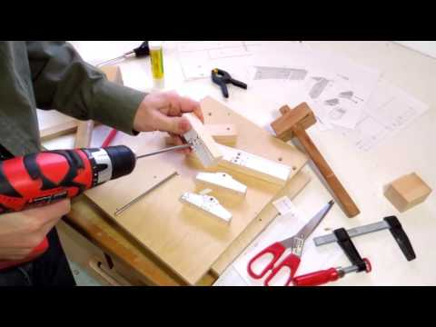 Table saw dovetail jig build 1   2