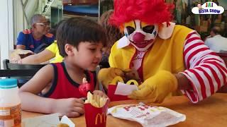 Ronald McDonald Surprise visit to McDonald's | Ronald McDonald in NYC