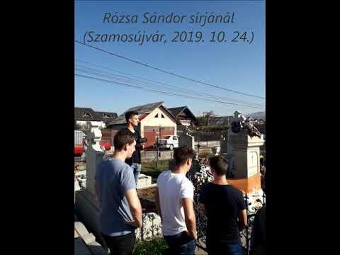 Rózsa Sándor sírjánál - Szamosújvár, 2019. 10. 24.