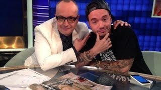 J BALVIN en Showbiz 8 Mayo 2014 - 2 Parte / Video @Noti_Momento