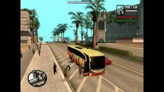 New Ismo Bus Indonesia GTA San Andreas