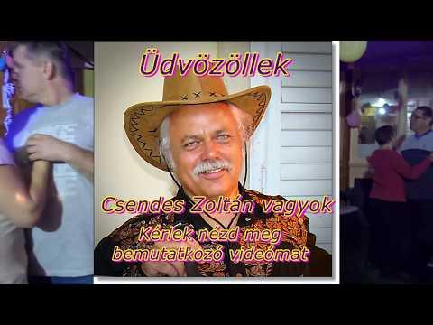 Csendes Zoltán zenész bemutatkozó videója.