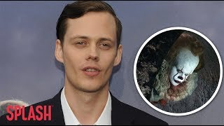 Bill Skarsgard Made Children Cry on 'IT' Set as Pennywise | Splash News TV