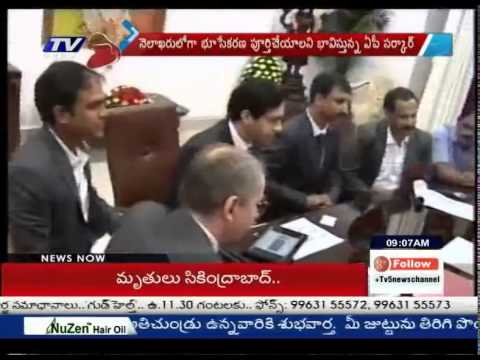 2nd Master Plan Ready For AP New Capital By Singapore : TV5 News