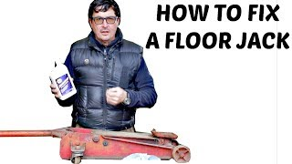 How To Fix A Floor Jack Like A Pro