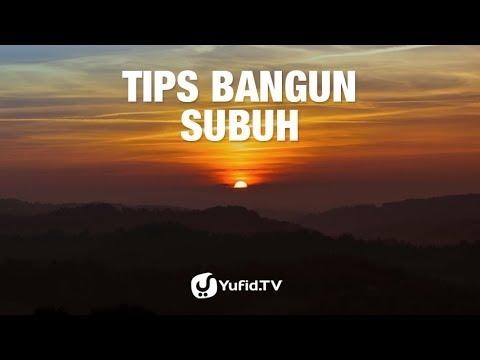 Tips Bangun Subuh