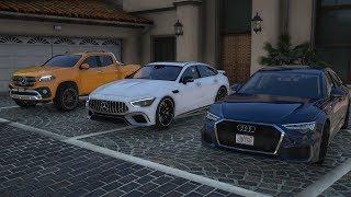 GTA 5 NV - 2019 Audi A6 55 TFSI Quattro - Gameplay HD