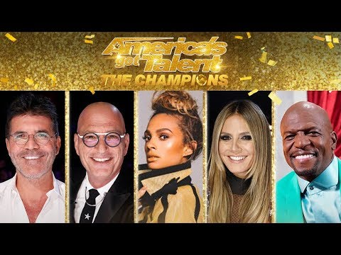 NEW JUDGES REVEAL By Shin Lim - America's Got Talent: The Champions