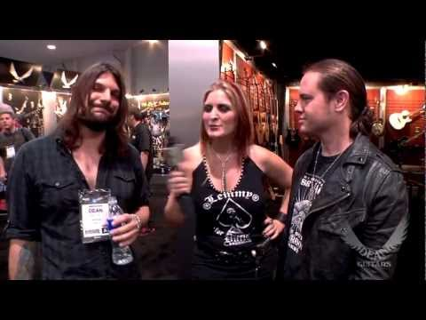 Dean Guitars Artists Mitch Arnold and Dean Pizzazz from WAYLAND Interview at 2013 NAMM.