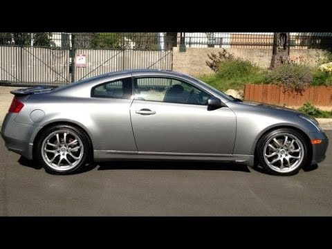 2005 Infiniti G35 coupe review - In 3 minutes you'll be an expert on G35 coupes under 10 grand