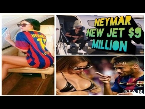 Neymar Private Jet / Barcelona superstar Neymar buys $9.1 million business jet