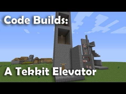 Minecraft Tekkit Elevator - Tutorial