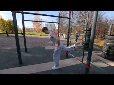 Тренировка для ног | Школа воркаута #4