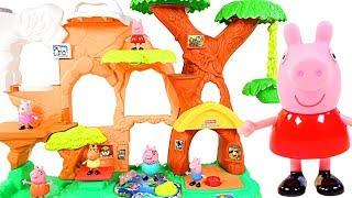 Mejores Videos Para Niños - Peppa Pig + Animals Little People Zoo Fun Videos For Kids