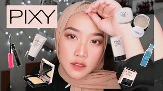 Flawless Full Coverage Makeup 30RIBUANNN! REVIEW + FIRST IMPRESSION PIXY ONE BRAND MAKEUP TUTORIAL