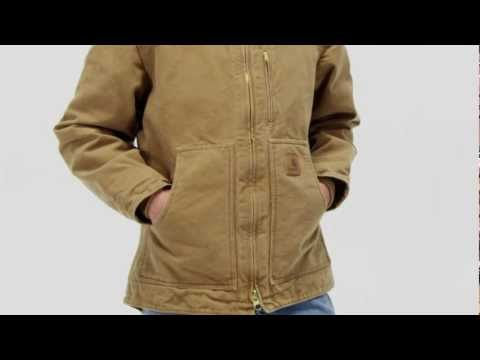Video: Men's Sandstone Ridge Coat - Sherpa Lined