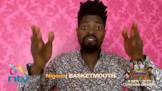 Exclusive: Basket Mouth official shout out to Nite of a Thousand Laughs