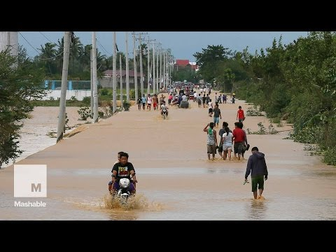 Typhoon Koppu Drenches Philippines and Displaces Thousands | Mashable News