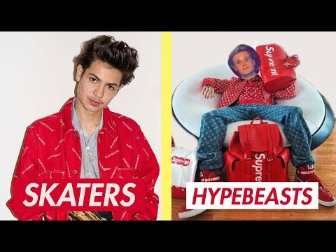 Skaters ARE NOT Hypebeasts!