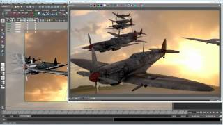 Interactive 3D rendering with Autodesk Maya, Chaos Group V-Ray RT 2.0 and NVIDIA Maximus