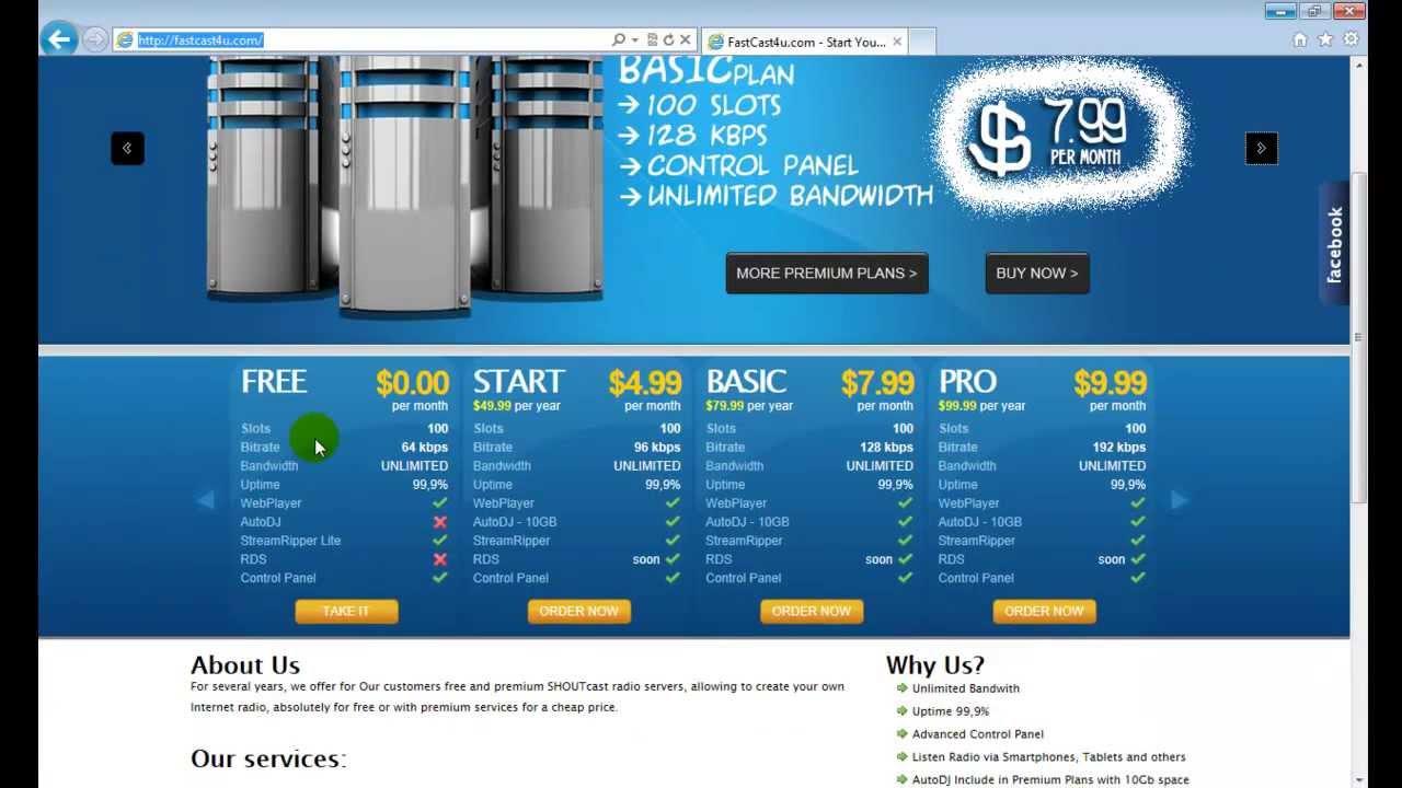 Professional Internet Radio Internet Radio Station