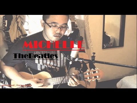 The Beatles - Michelle (acoustic guitalele cover | TheNylonTones | w/Chords and Lyrics)