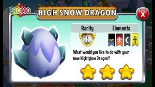 Dragon City - High Snow Dragon [It's Time for Racing, Let's Play   Part 5]