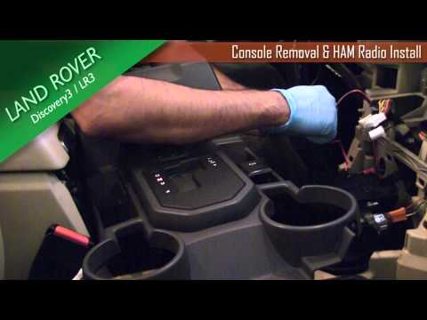Land Rover LR3 / Discovery3 Front & Center Console Removal