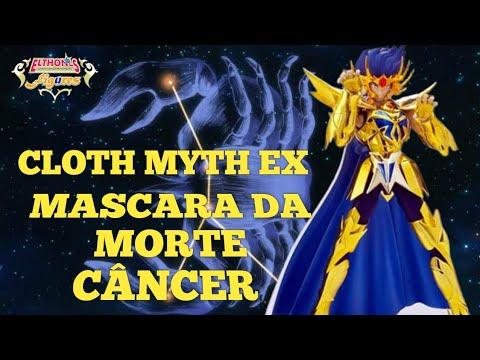 #42 CDZ - Cloth Myth Saint Seiya Mascara da Morte-Câncer EX- Montagem/Comparação com 1.0-PT-BR