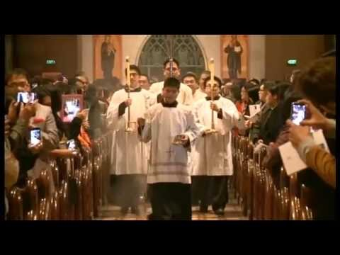 Cardinal Tagle Mass at St Patrick's Cathedral Melbourne