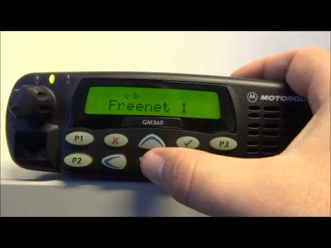 Motorola Funkgert GM360 VHF BOS Freenet Amateurfunk