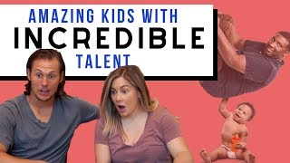 AMAZING kids with incredible talent *reactions* | the east family