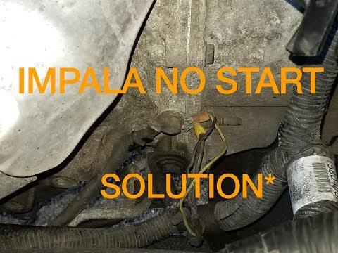 Chevrolet Impala No Start No Power To Starter. Solution Fixed *