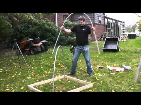 DIY PVC Green House/ Cold frame