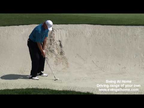 Steve Stricker & Ernie Els Bunker Shots Video