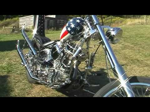 Captain America and Billy Bike choppers