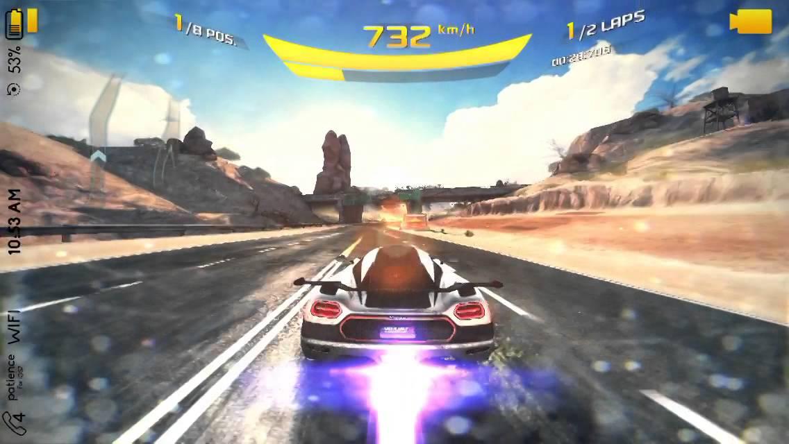 Asphalt 8 gameplay with koenigsegg one 1 youtube - Asphalt 8 hd images ...