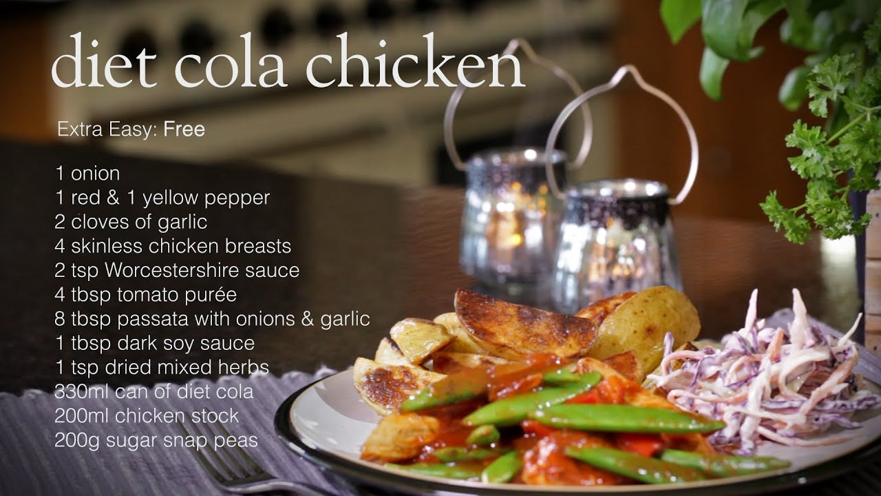 Slimming World diet cola chicken recipe - YouTube