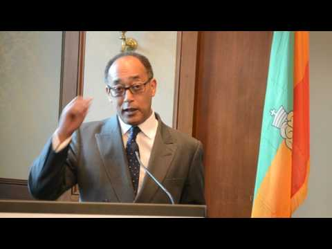 Prince Ermias' Remarks To The Ethiopian Community Of Victoria At Langham Hotel (English)